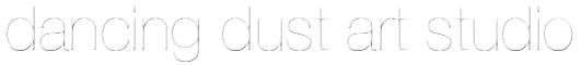 Dancing Dust Art Studio Logo
